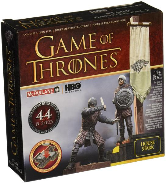 McFarlane Toys Game of Thrones Building Set Stark Banner Pack