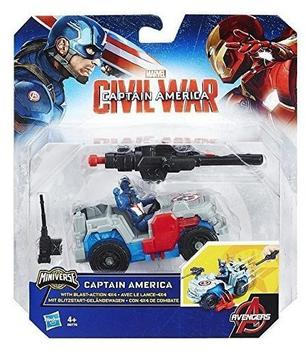 Hasbro Marvel Captain America: Civil War - Captain America with blast action 4x4