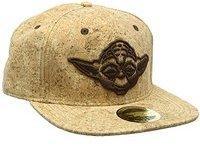 Bioworld Star Wars Snapback Cap Yoda Cork