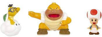 Jakks Pacific Nintendo Figur Micro 3er Pack W2-Red Toad,Lakitu,S