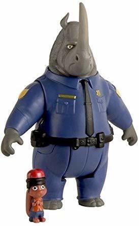 TOMY Zoomania Spielfigur Set McHorn und Safety Squir