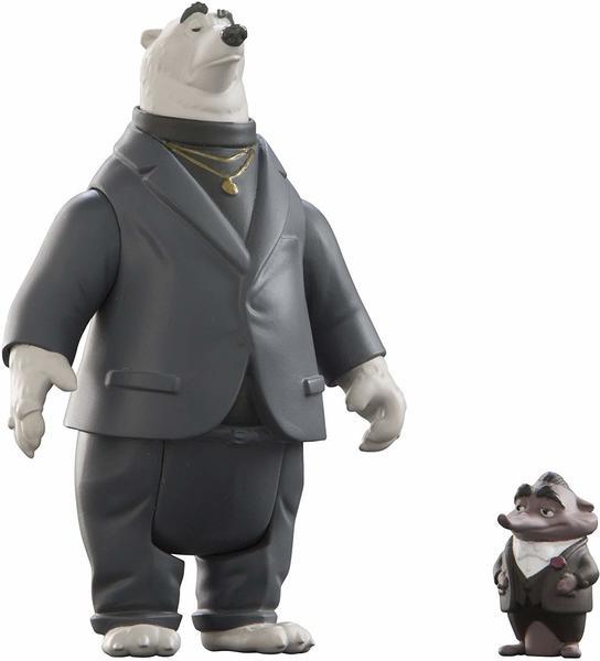 TOMY Zoomania Kleine Spielfiguren 2er Set - Kevin & Mr. Big