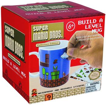 Paladone Super Mario Becher Build a Level