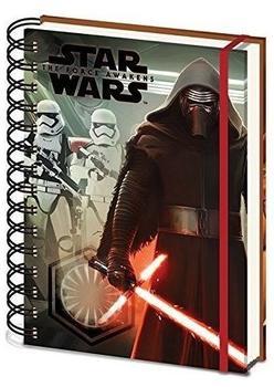 Star Wars The Force weckt A5 Notizbuch 14cm x 21cm