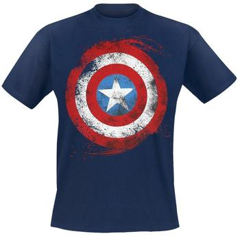 Flashpoint Marvel T-Shirt -L- Captain America Schild