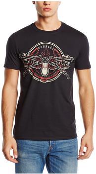 Star Wars - X-Wing Crest,t-Shirt,größe L,schwarz T-Shirt