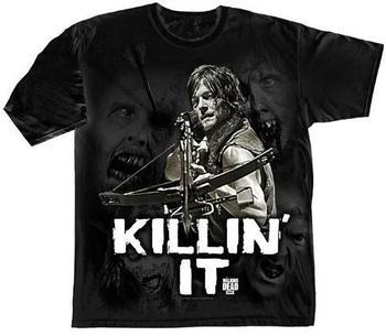 trademark-products-ltd-the-walking-dead-killin-it-herren-t-shirt-groesse-l