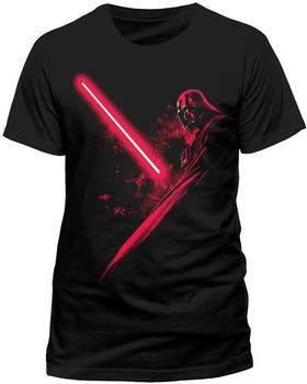 fanseller de STAR WARS T-shirt DARTH VADER Shadow (T-Shirt,schwarz,größe M)