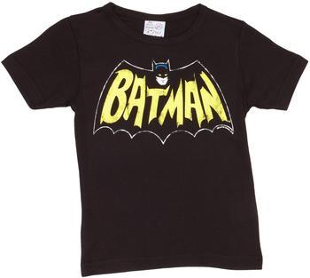 LOGOSHIRT T-Shirt Batman - Fledermaus schwarz, Größe 104/116