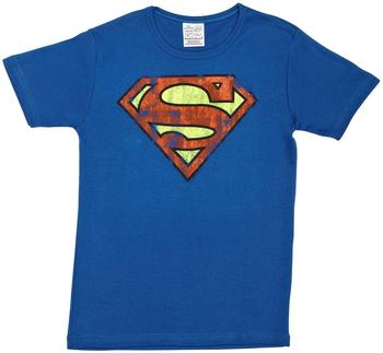 logoshirt-t-shirt-superman-groesse-140-152