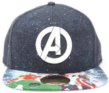 Bioworld Marvel Snapback Cap Avengers Logo