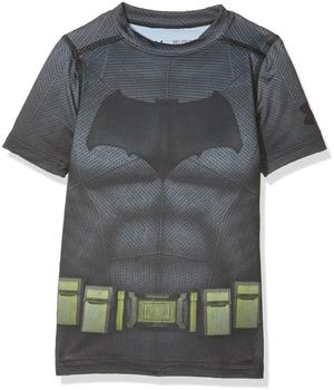 Under Armour Batman Trainingsshirt Suit grau Kinder Gr. 164