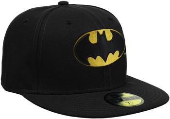 New Era 59FIFTY Character Basic Batman Cap schwarz, Größe 55,8