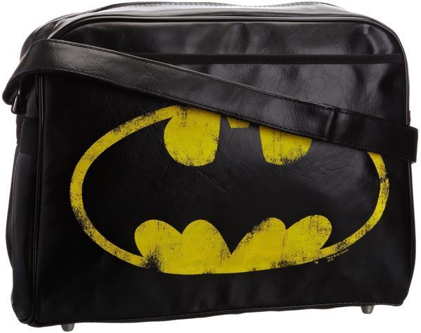 LOGOSHIRT Batman Logo schwarz