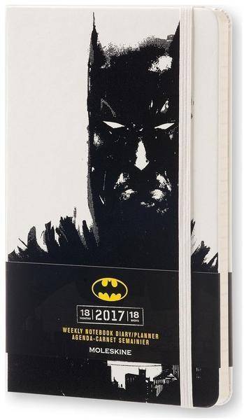 Moleskine 18-Monate limitierte Sonderausgabe Batman Wochen-Notizkalender 2017
