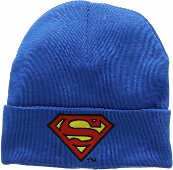 logoshirt-strickmuetze-superman-logo-groesse-one-size