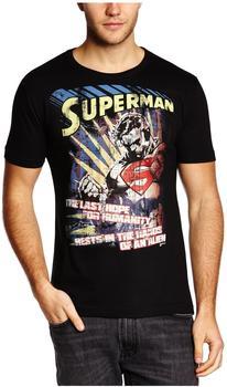 Logoshirt Superman schwarz