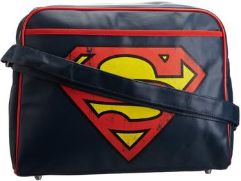Logoshirt Tasche Superman - Logo blau