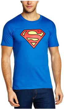 Soulfood Superman T-Shirt Logo blau XL