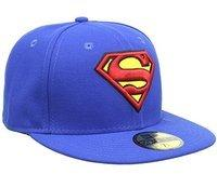 NEW ERA Character Basic Superman Cap Marvel Logo Fitted Caps