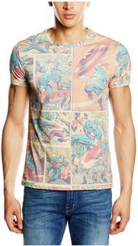 Bioworld Marvel T-Shirt -XXL- Captain America Comic