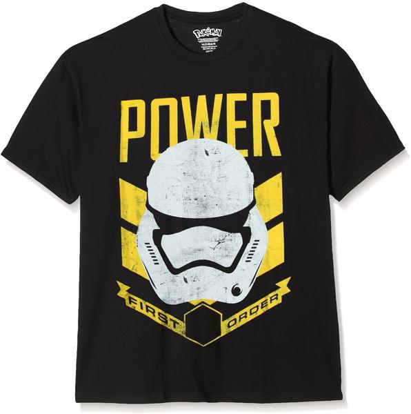 Bioworld Star Wars T-Shirt -S- Stormtrooper Power, schwarz