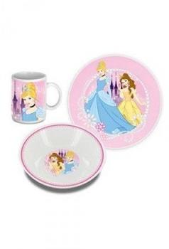 ELI Disney Prinzessin Frühstücksset (3-teilig)