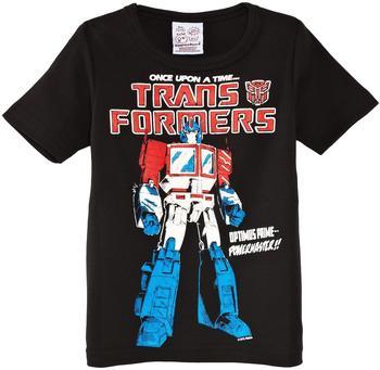 LOGOSHIRT T-Shirt Optimus Prime - Transformers schwarz, Größe 92