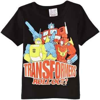 LOGOSHIRT T-Shirt Transformers schwarz, Größe 140/152