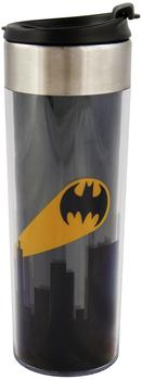 united-labels-0122039-batman-coffee-to-go-tasse-bat-signal-kunststoff-circa-400-ml