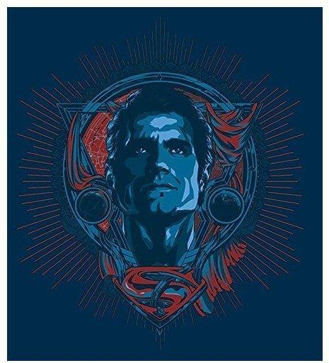Batman Batman vs. Superman Leinwand Print Superman Profil