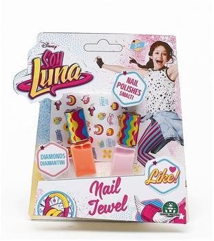 SOY LUNA Disney Soy Luna Nagellack mit Stickern