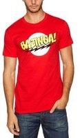 Trademark Products Ltd Big Bang Theory - Bazinga! - T-Shirt - Rot - Größe M