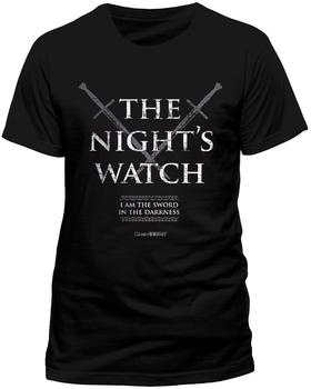 Completely Independent Distribut Nights Watch (T-Shirt,schwarz,größe S)