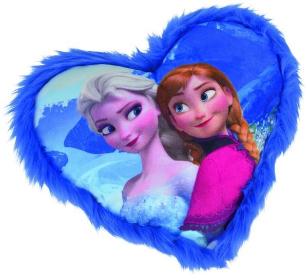 Simba Disney Frozen Herzkissen mit Anna und Elsa