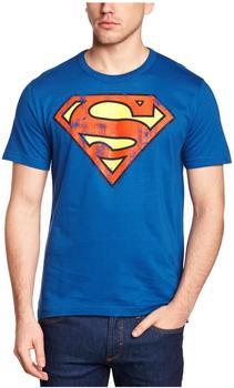 LOGOSHIRT T-Shirt Superman blau Größe XS
