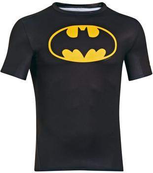 Under Armour Batman Compression Shirt Alter Ego schwarz M