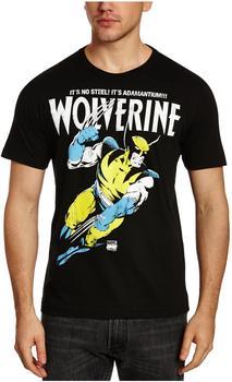 LOGOSHIRT T-Shirt Wolverine - Marvel - Adamantium schwarz, Größe XXL