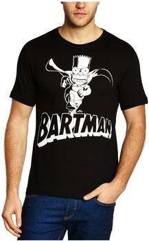 LOGOSHIRT Bart Simpson - The Simpsons schwarz