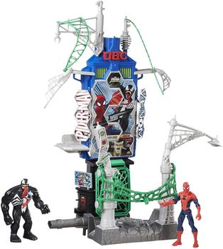 Hasbro Spider-Man Sinister 6 Web City Skyline Spiel-Set (B7198EU4)