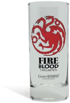 Abystyle Trinkglas Haus Targaryen - Game of Thrones