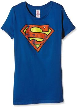 Logoshirt Superman blau M