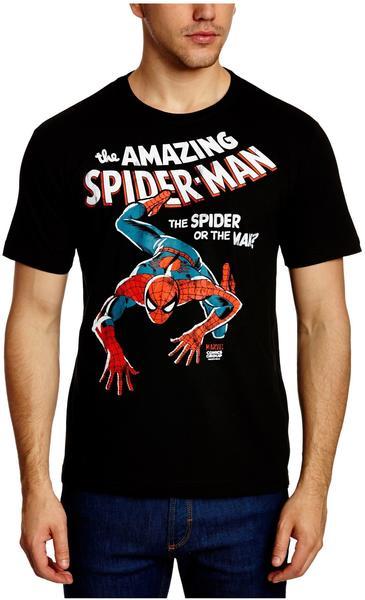 LOGOSHIRT Spider-Man T-Shirt print schwarz,