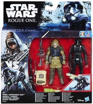 Hasbro Star Wars Rogue One - Death Trooper & Rebel Commando Pao (B7259)