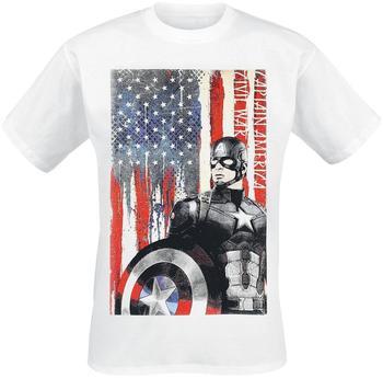 Flashpoint Captain America T-Shirt -2XL- American Flag