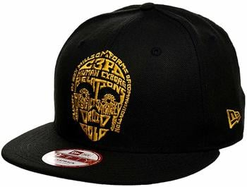 New Era C3PO Word Snapback Cap 9fifty Special Limited Edition Star Wars
