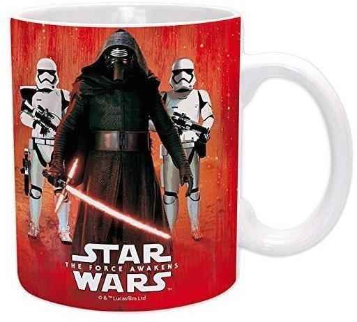 Close Up Star Wars VII The Force Awakens Tasse Kylo Ren & Troopers