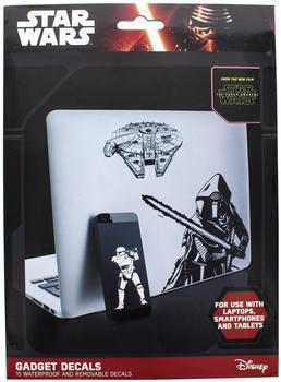 Star Wars Episode VII Sticker Set für Laptop, Smartphone oder Tablet