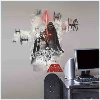 RoomMates Wandsticker Star Wars Das Erwachen der Macht Villain (3 Teile)