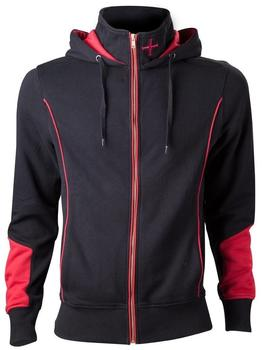 Bioworld Assassins Creed Hoodie -S- Rogue, schwarz/rot